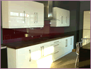 Image of coloured splashback